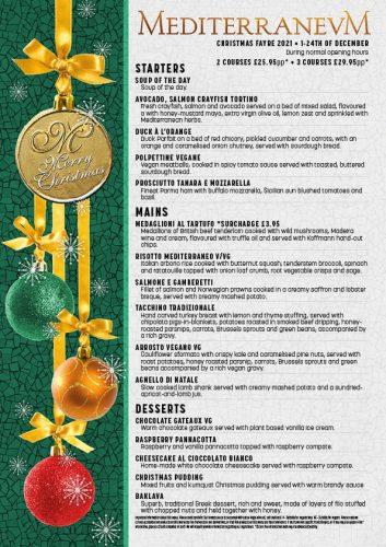 Mediterranevm Christmas Fayre 21